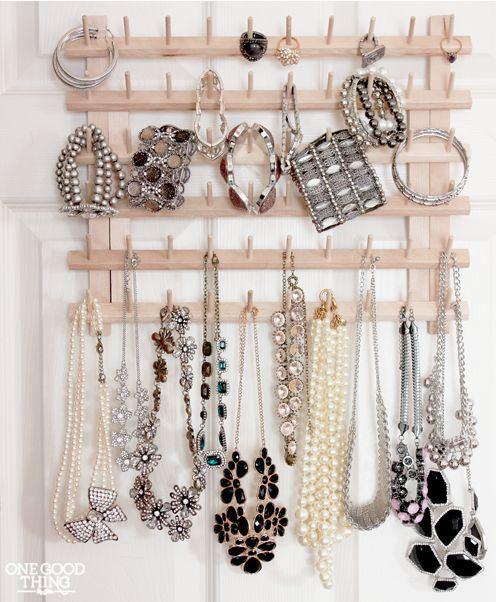 DIY Jewelry Storage Ideas