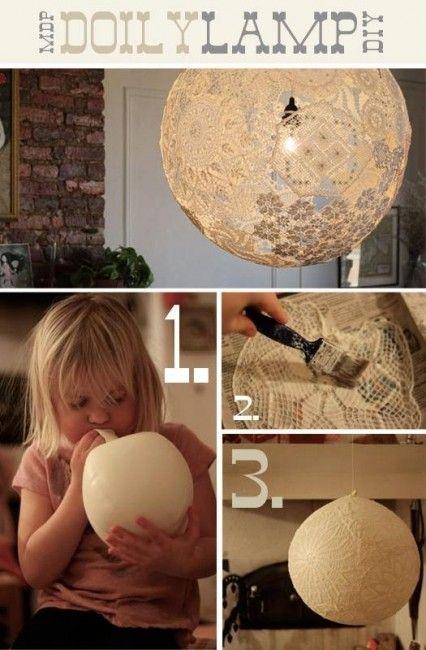 6 Unique DIY Lighting Ideas
