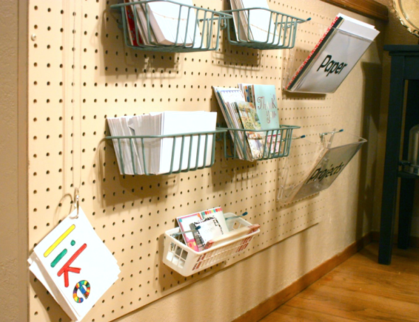 Pegboard office org