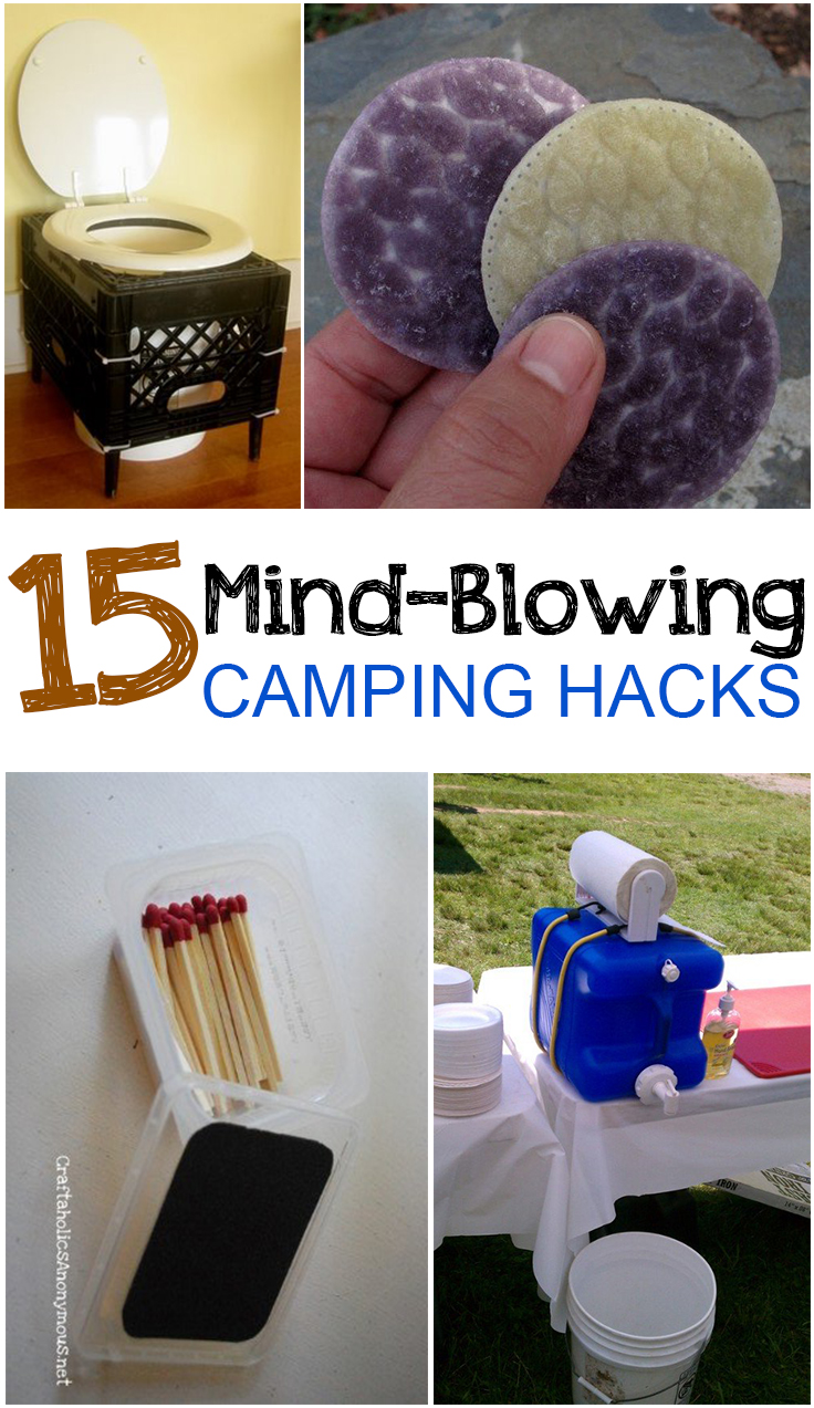 15 Mind-Blowing Camping Hacks - Picky Stitch