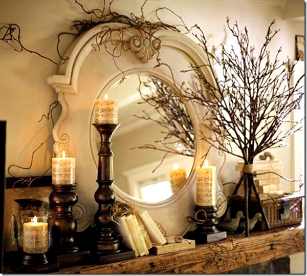 Decorate your mantel, fireplace decor, DIY fireplace, DIY home decor, popular pin, interior design tips, interior design tricks.