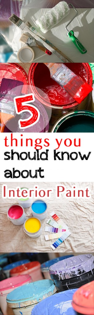 5 Things You Should Know About Interior Paint (1)