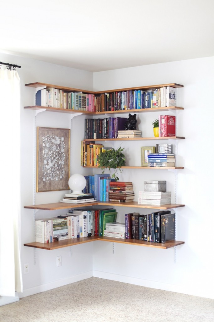 DIY Book Storage and Organization