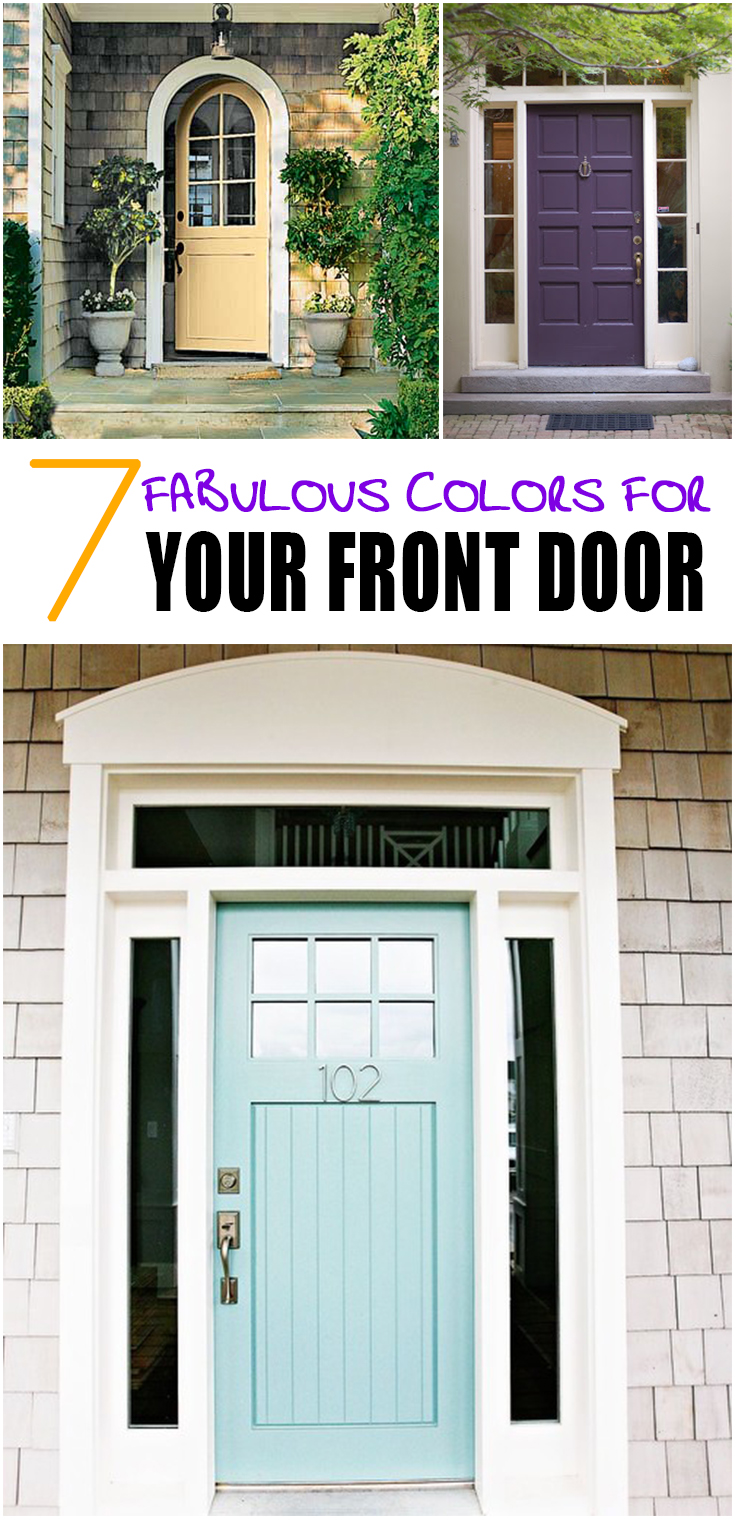 7 Fabulous Front Door Colors Page 4 Of 8 Picky Stitch