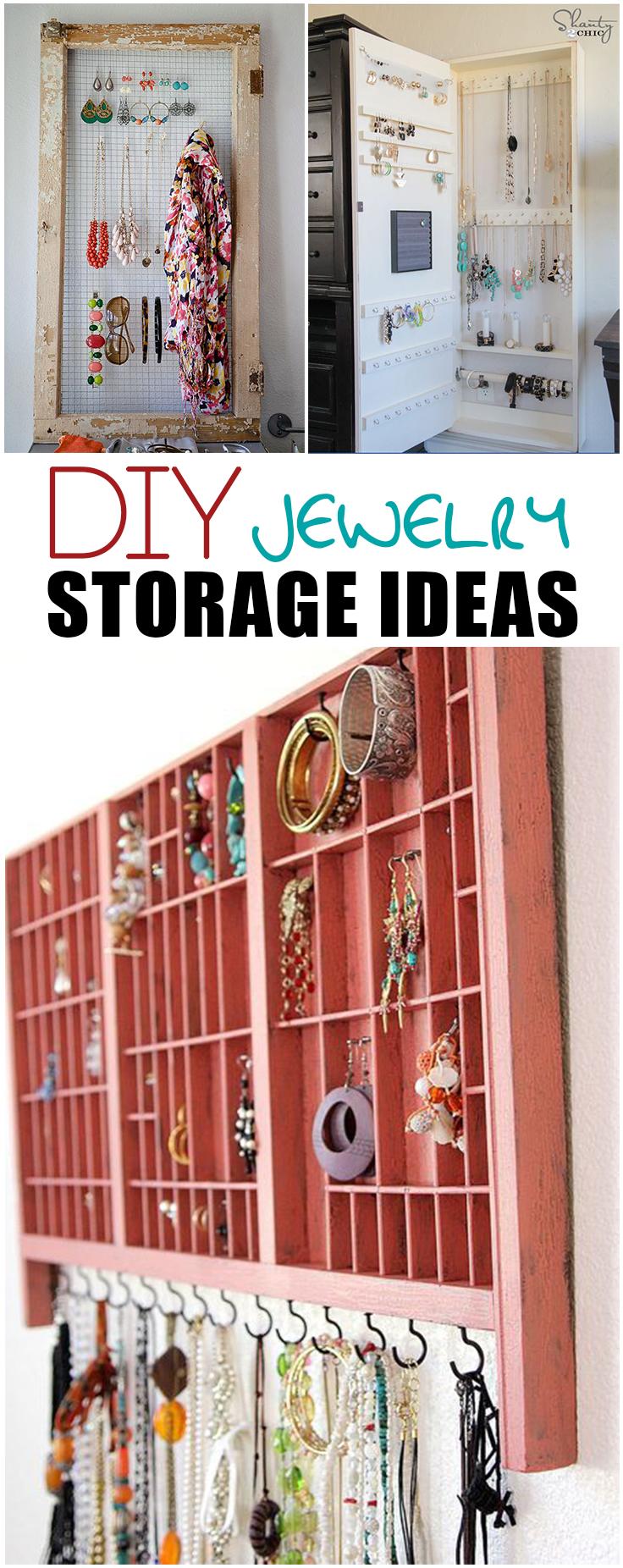 Jewelry Organization Ideas Picky Stitch