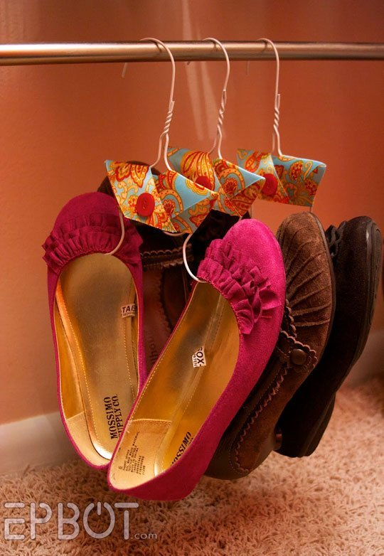 Organization, how to organize your shoes, closet organization, popular pin, DIY shoe organization, small space organization, small closet space.