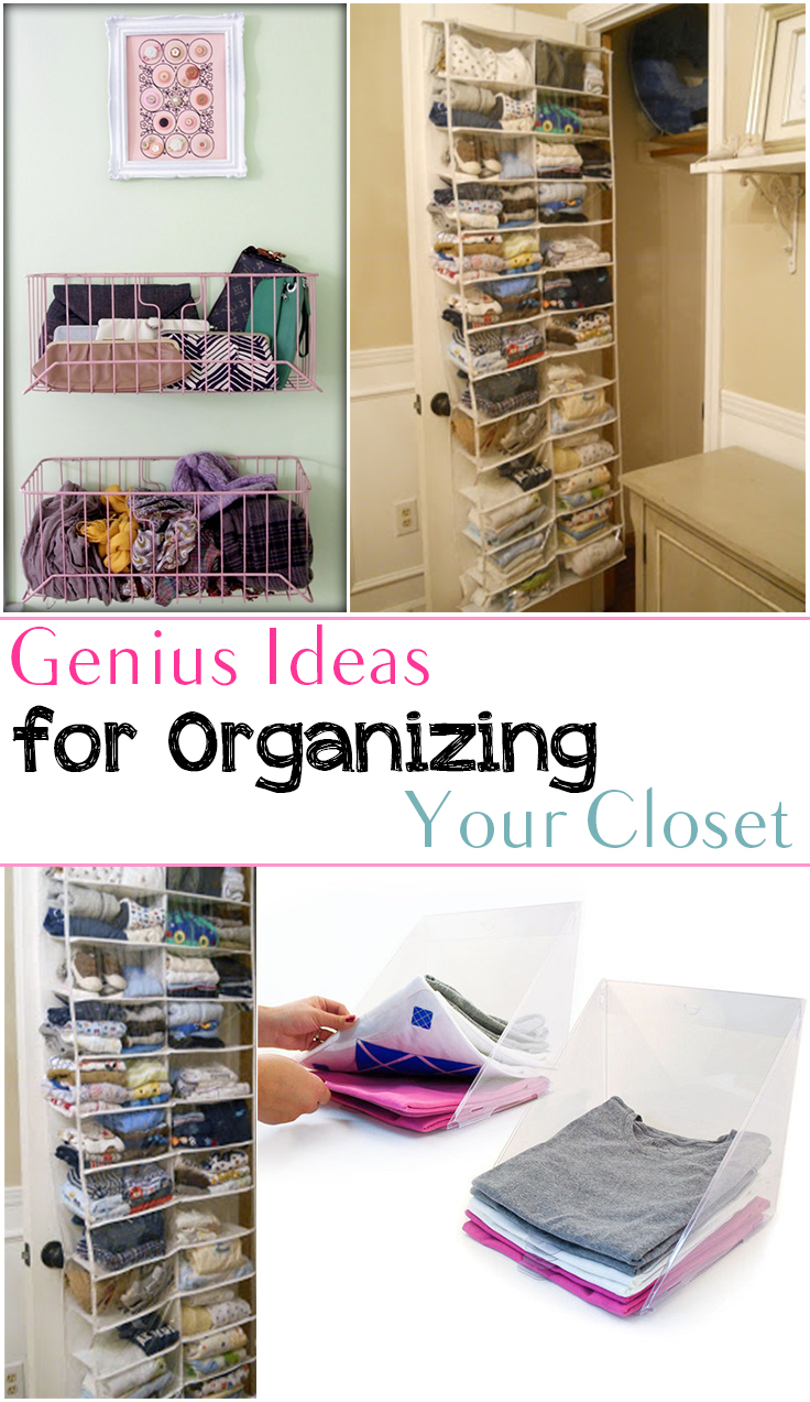 10 Borderline Genius Ideas For Organizing Your Closet