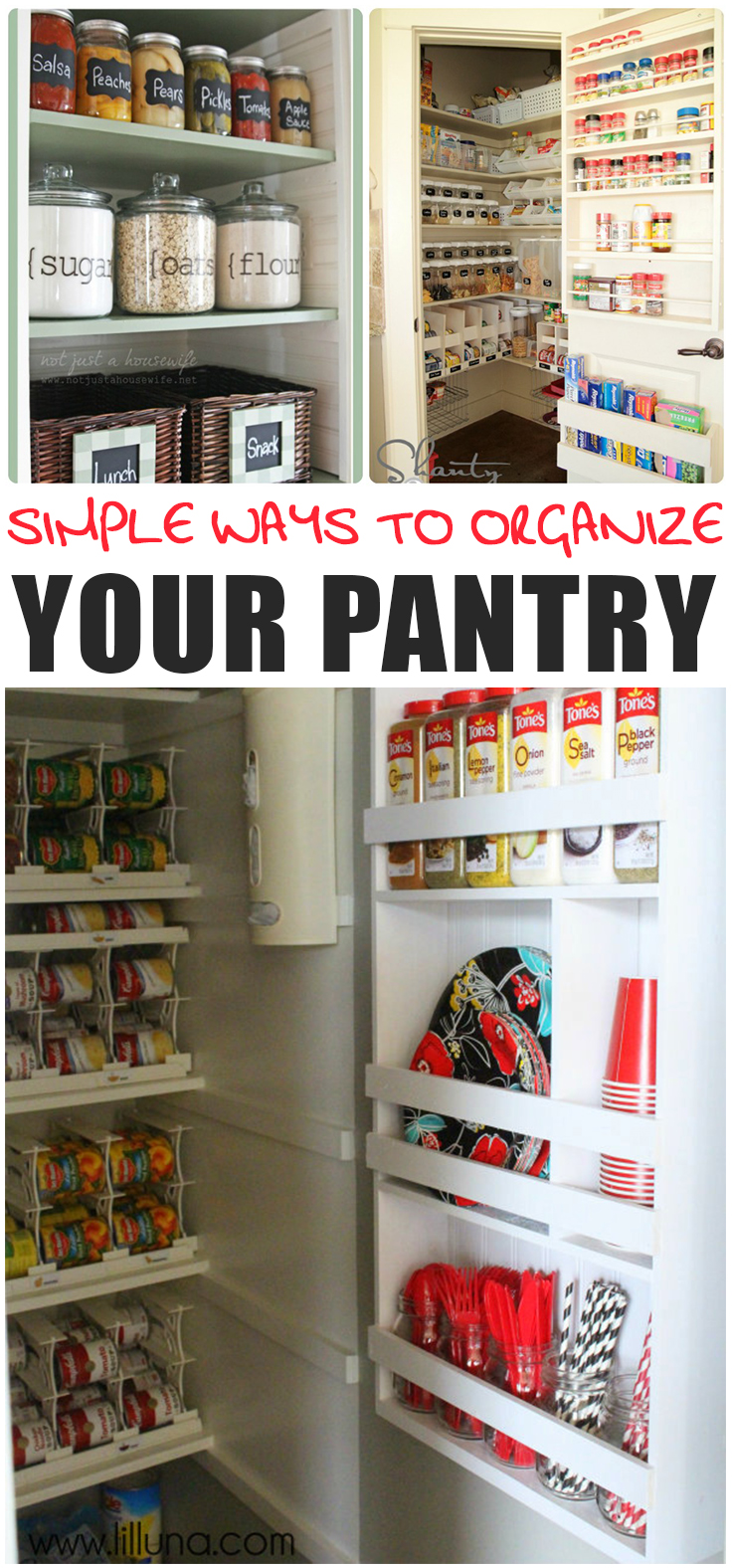 8 Simple Ways To Organize Your Pantry Page 9 Of 9