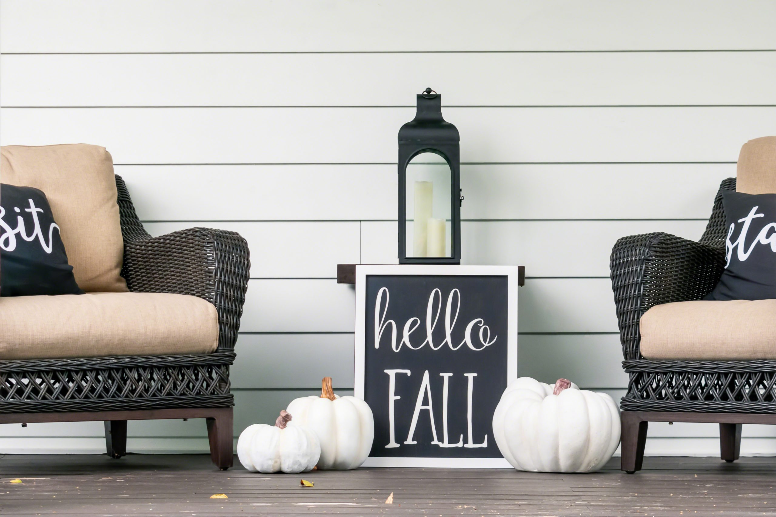 Holiday front porch decor ideas