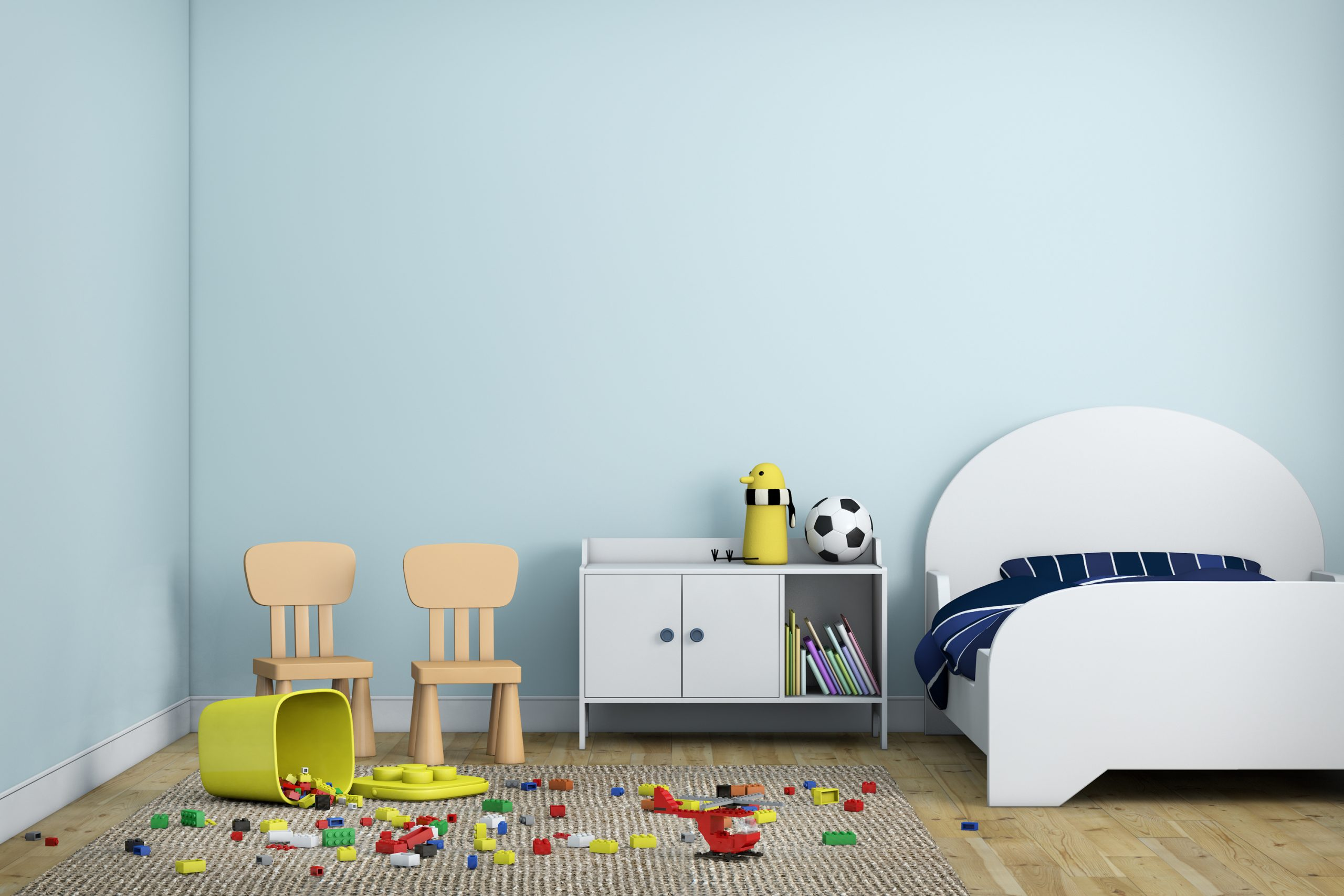 Are you sick of looking at your child's messy room? We have ways to help you organize kids rooms! See how you can organize kids rooms without a headache.