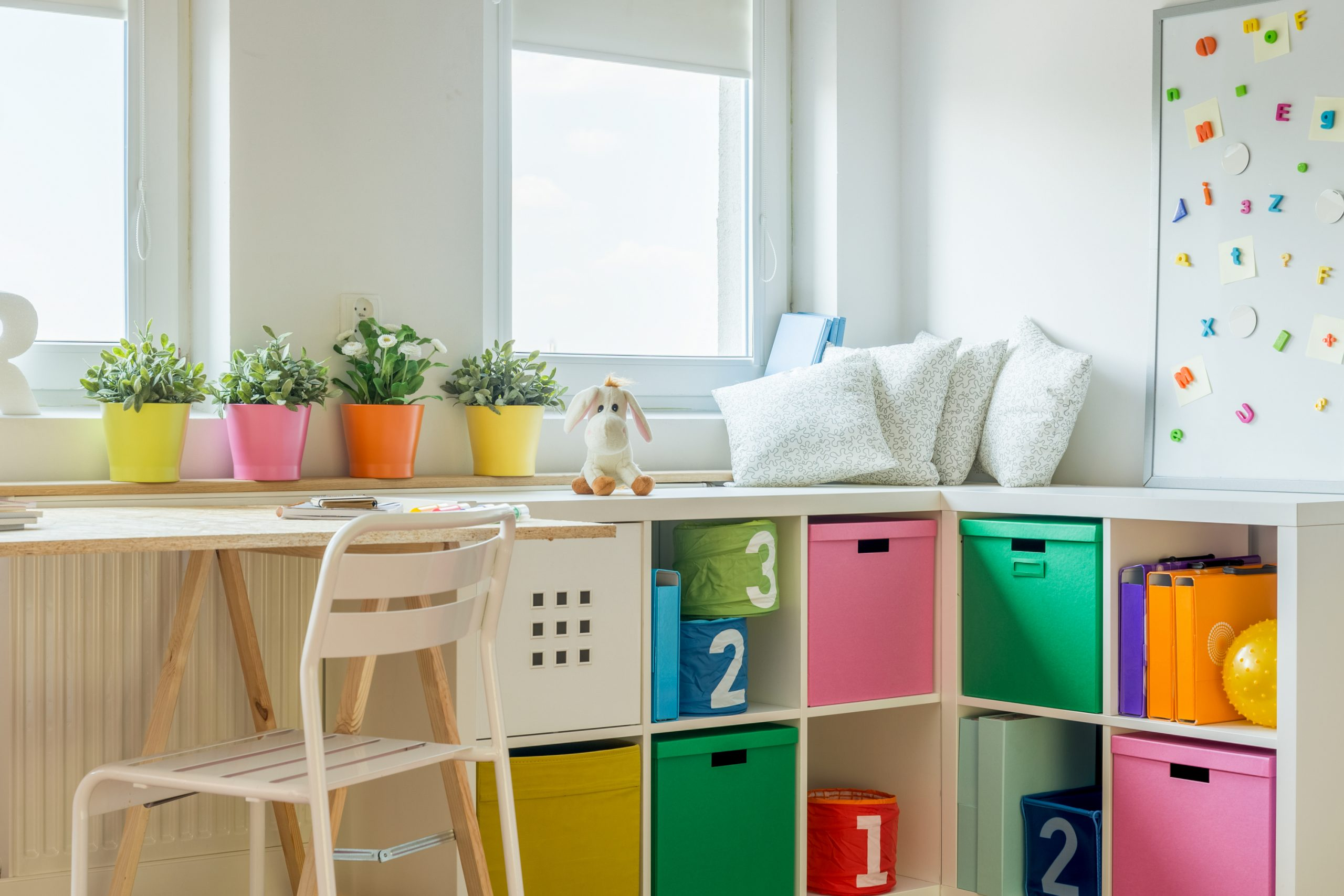 Are you sick of looking at your child's messy room? We have ways to help you organize kids rooms! We even have ideas to organize kids rooms on a budget.