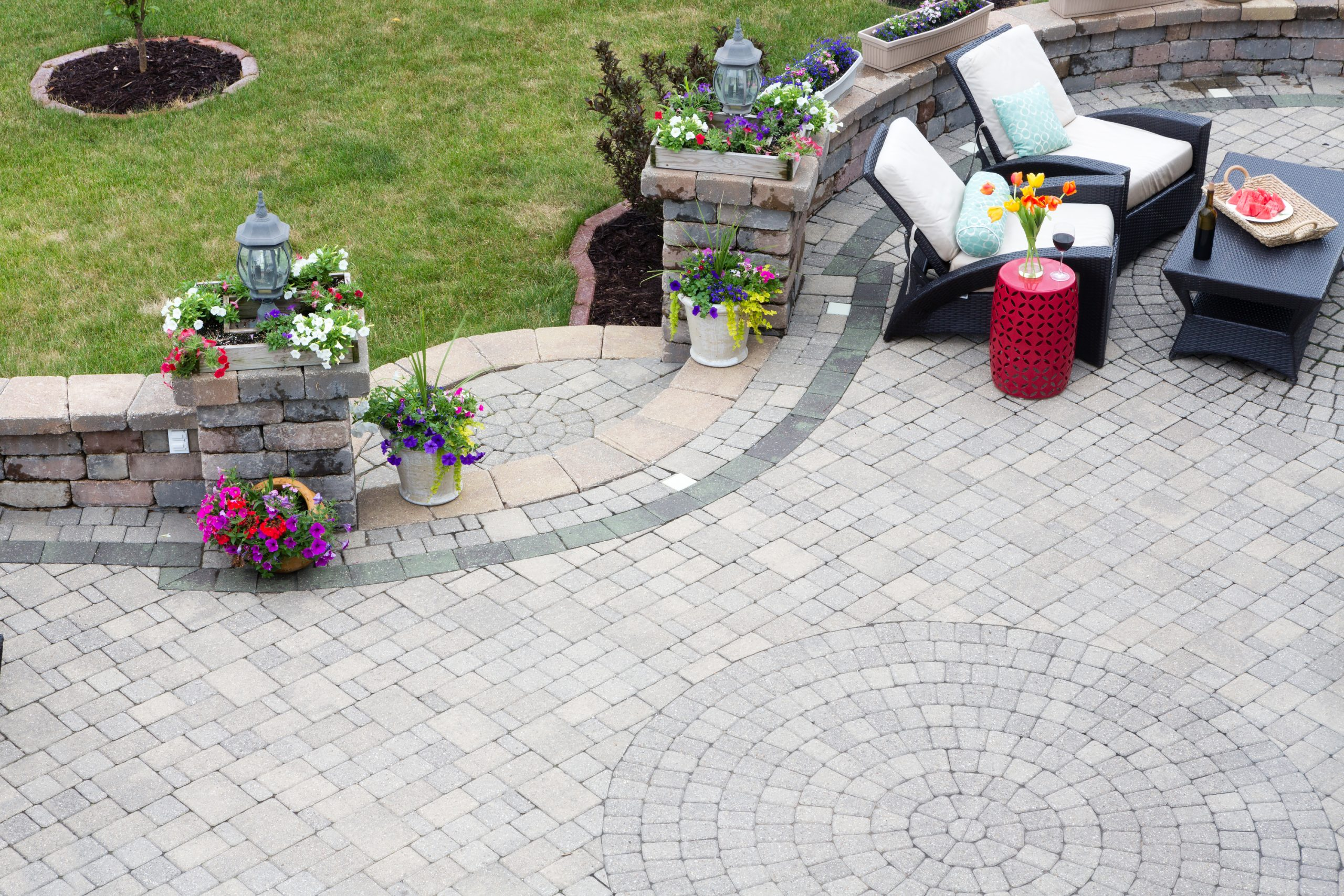 Are you looking to make your own DIY patio? You're in luck! These DIY patio pavers are easy to lay down and will look amazing!