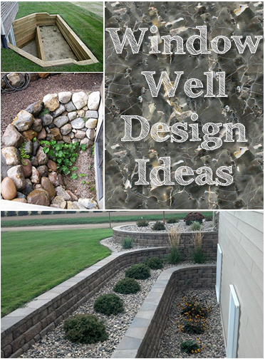 Basement Window Well Designs 12 Ways Your Window Wells Won't Be Eyesores  Picky Stitch