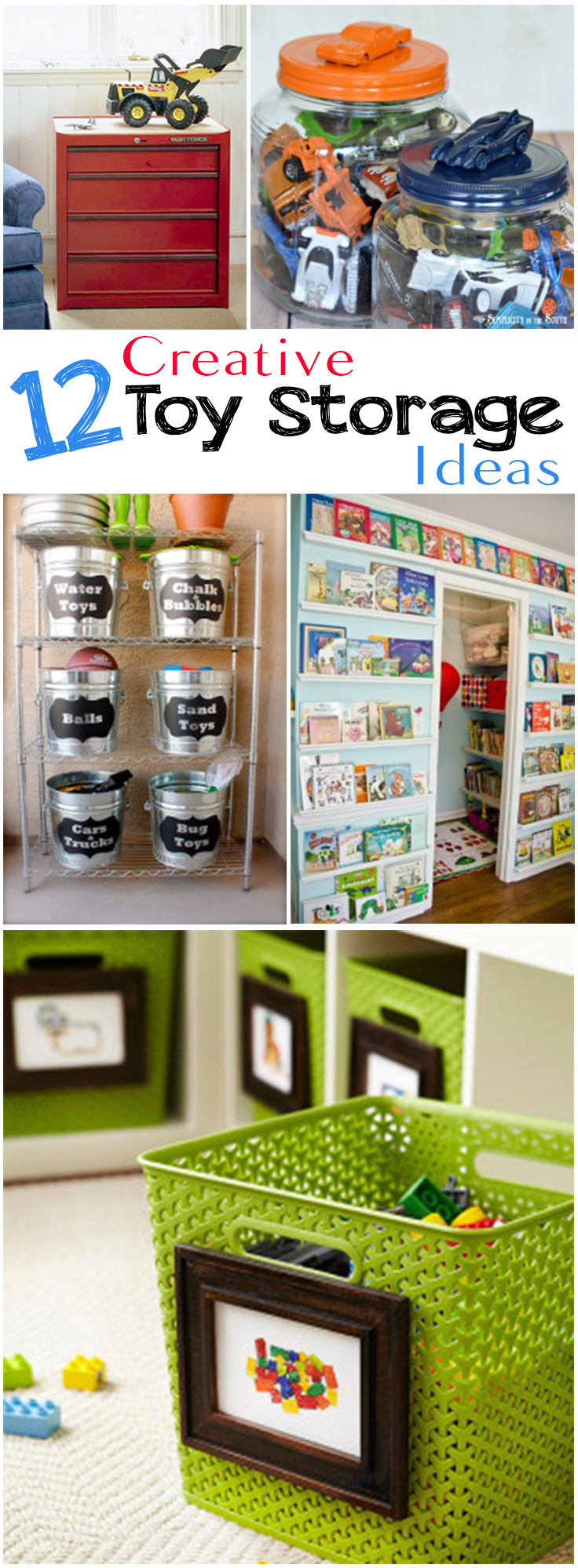 12 Creative Toy Storage Ideas Page 8 Of 13 Picky Stitch