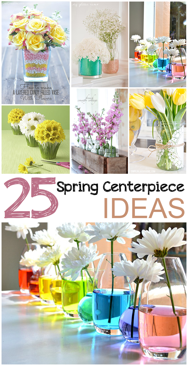 Spring centerpiece ideas page of picky stitch