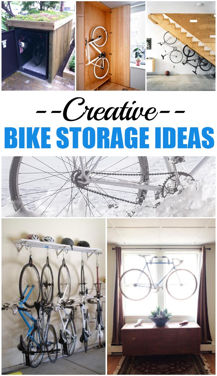 Creative Bike Storage Ideas Page 7 Of 11 Picky Stitch