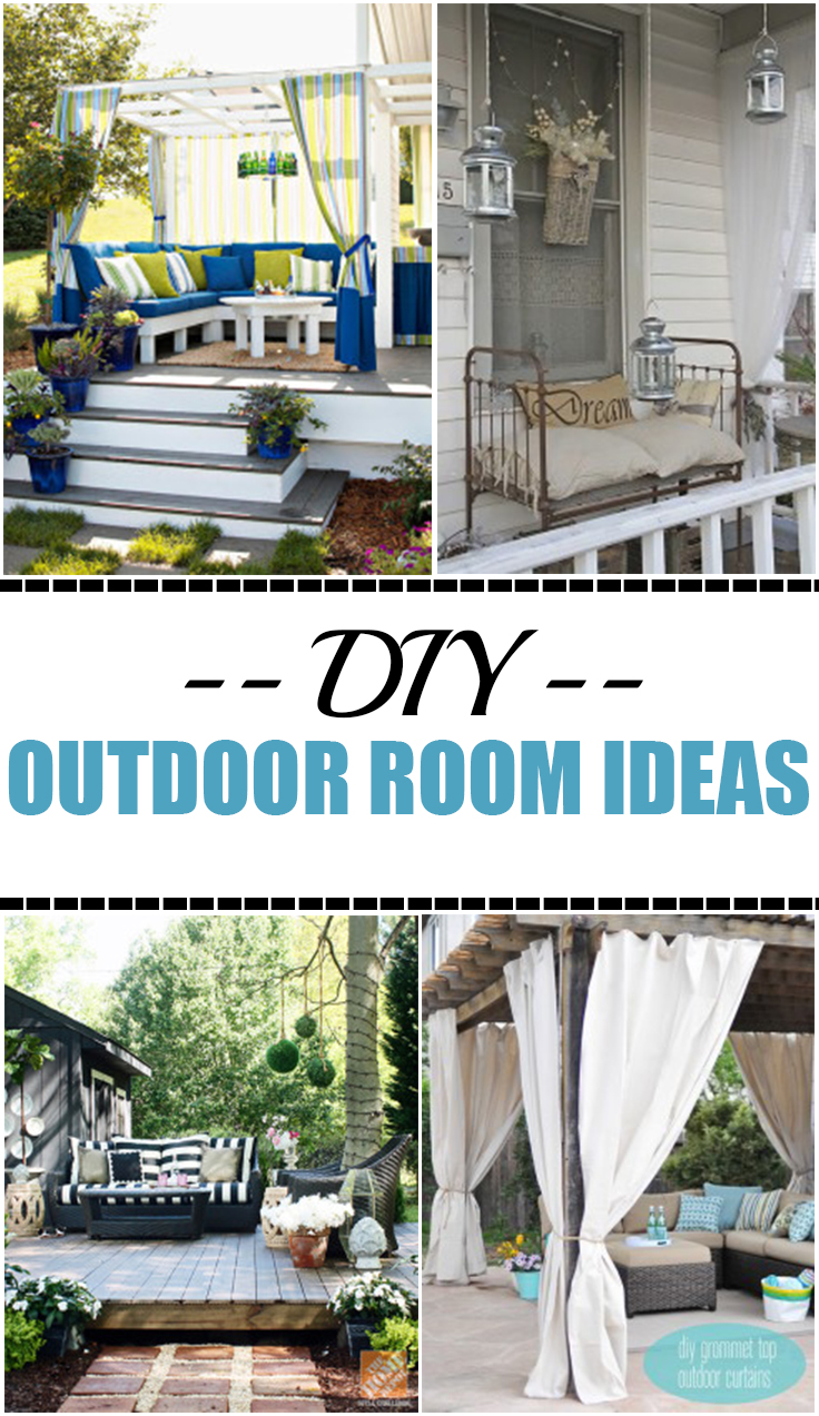 Diy outdoor rooms on a budget page 2 of 14 picky stitch for Diy garden room