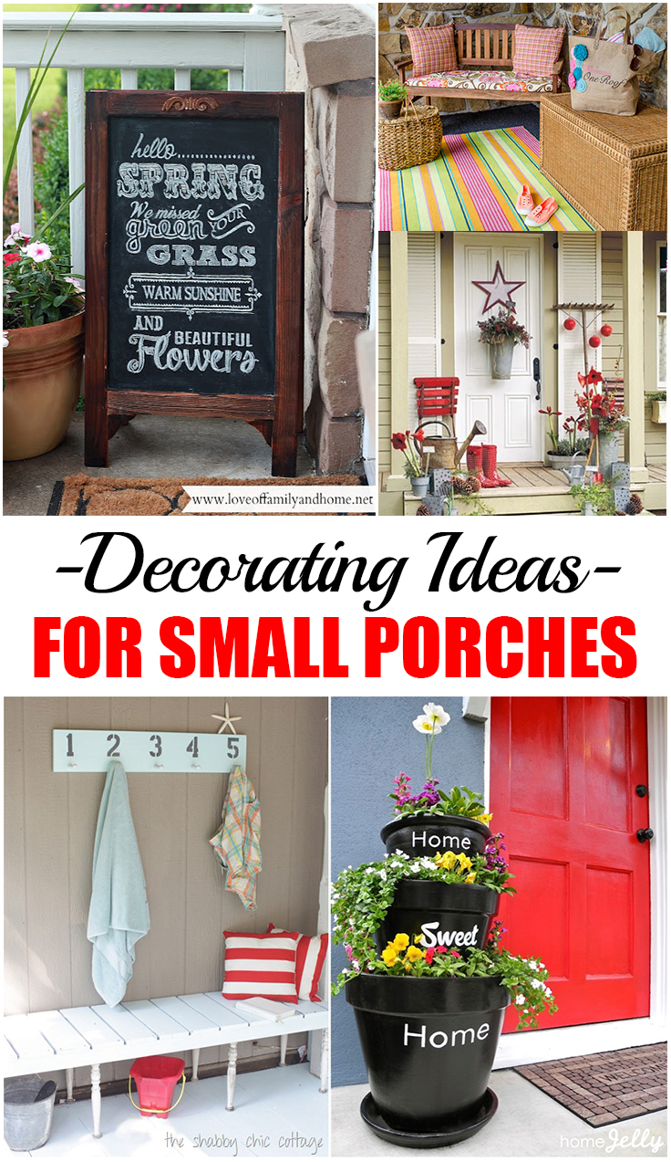 Decorating ideas for small porches picky stitch for Decorating ideas for small porches