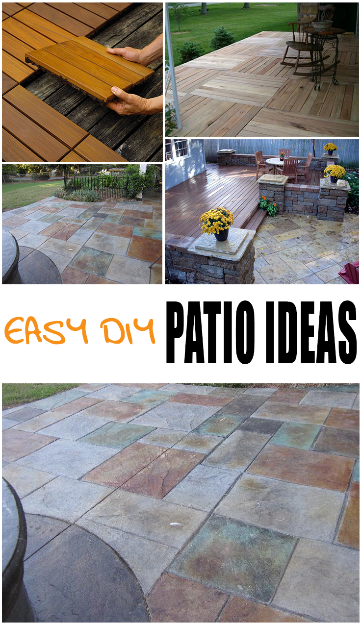 {Easy} DIY Patio Options - Page 2 of 7 - Picky Stitch on Diy Backyard Deck Ideas id=20319