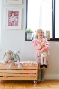 a toy bench is a great toy storage ideas
