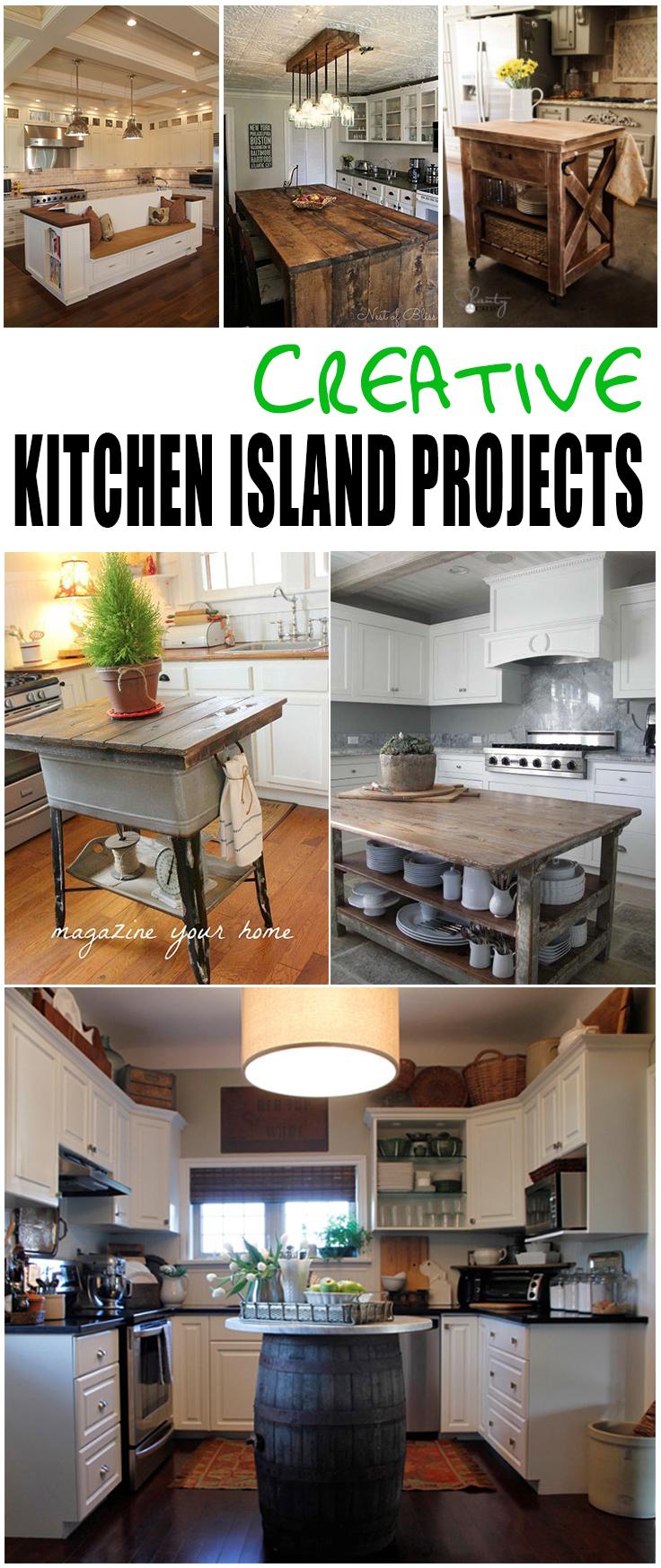 14 Diy Kitchen Island Ideas Picky Stitch