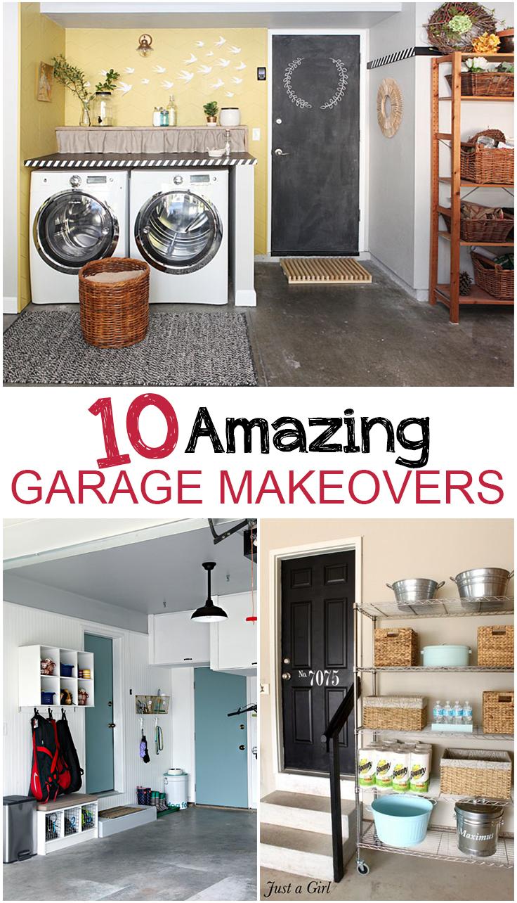 10 Garage Makeover Projects Picky Stitch