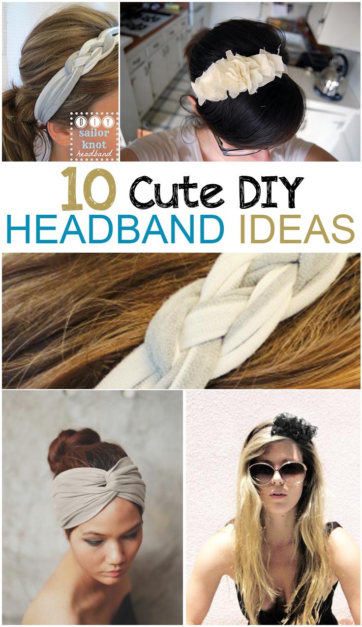 10 Cute Guys With Blonde Hair: 10 Cute DIY Headband Ideas