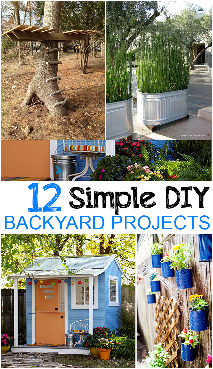 12 easy diy backyard projects page 7 of 13