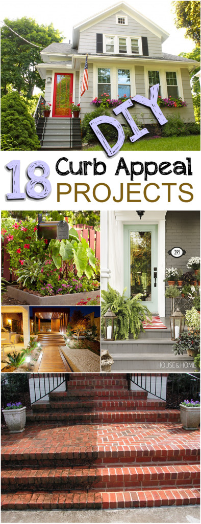 Curb appeal projects, DIY curb appeal, easy home improvement, popular pin, curb appeal projects, DIY home improvement, DIY home improvement projects.