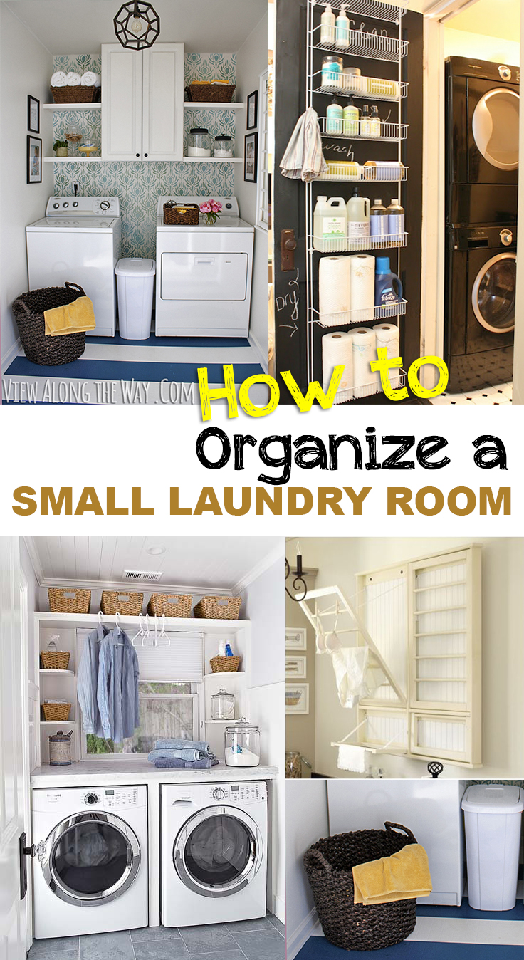 how to organize a small laundry room • picky stitch