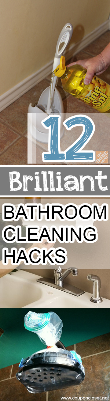 12 Brilliant Bathroom Cleaning Hacks Picky Stitch
