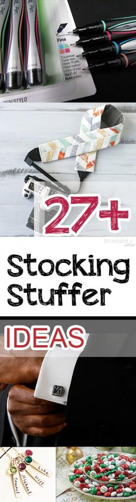 27+ Stocking Stuffer Ideas