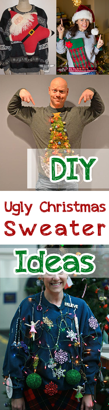 Diy ugly christmas sweater ideas page 7 of 12 picky stitch for Ugly christmas sweater ideas make your own