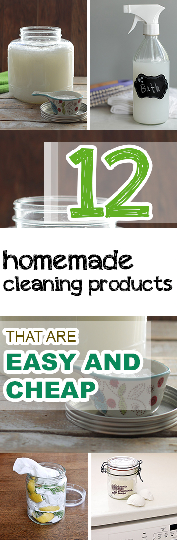 12 homemade cleaning products that are easy and cheap picky stitch - Home made cleaning products ...