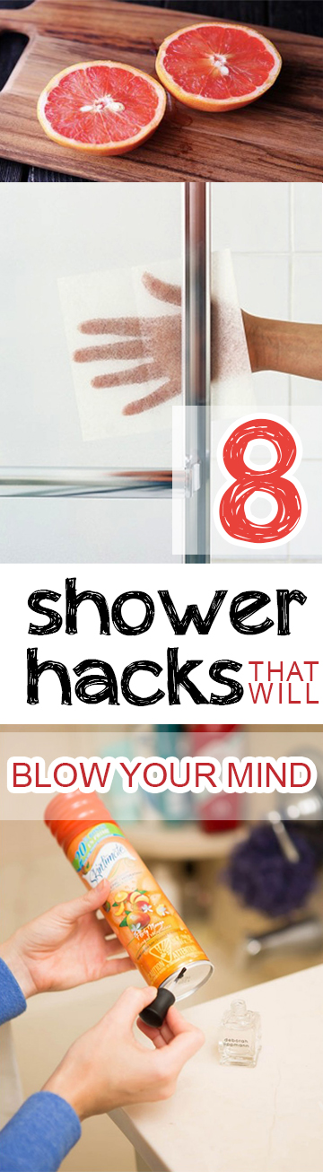 8 shower hacks that will blow your mind page 5 of 9 picky stitch. Black Bedroom Furniture Sets. Home Design Ideas