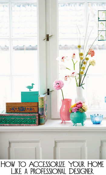 8 Ways to Decorate Your Windowsills