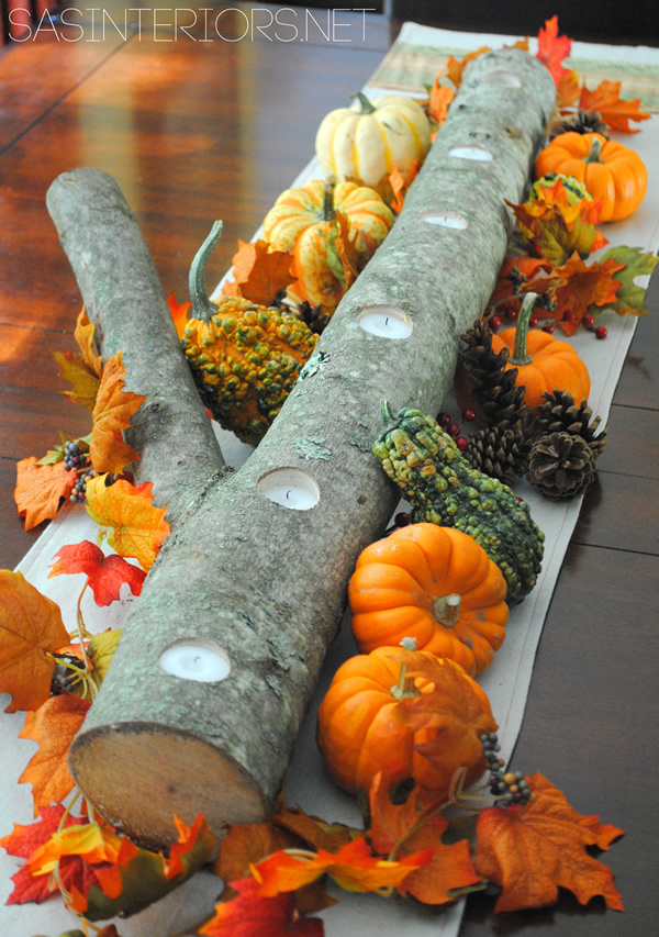 10 Beautiful Thanksgiving Centerpieces10