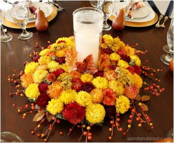 10 Beautiful Thanksgiving Centerpieces2