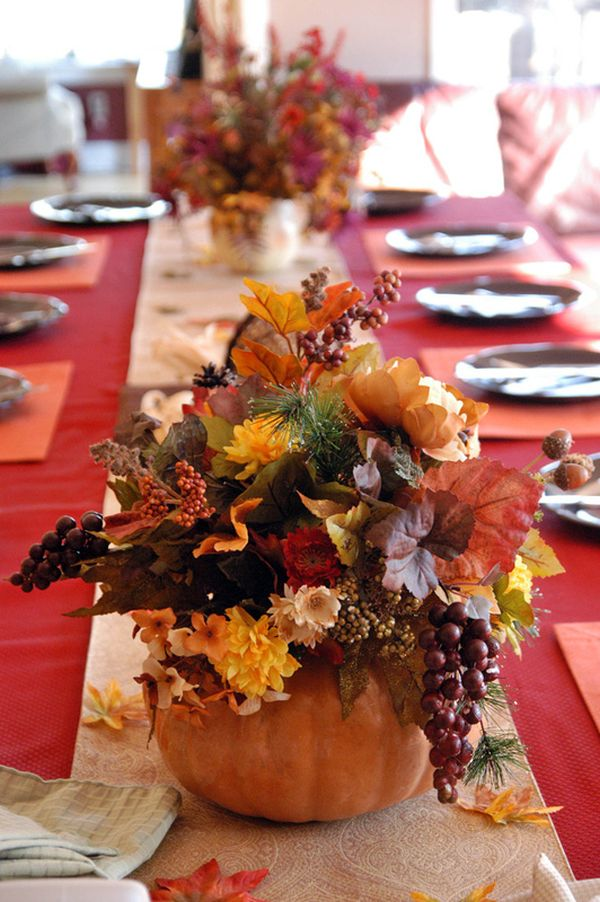 10 Beautiful Thanksgiving Centerpieces8
