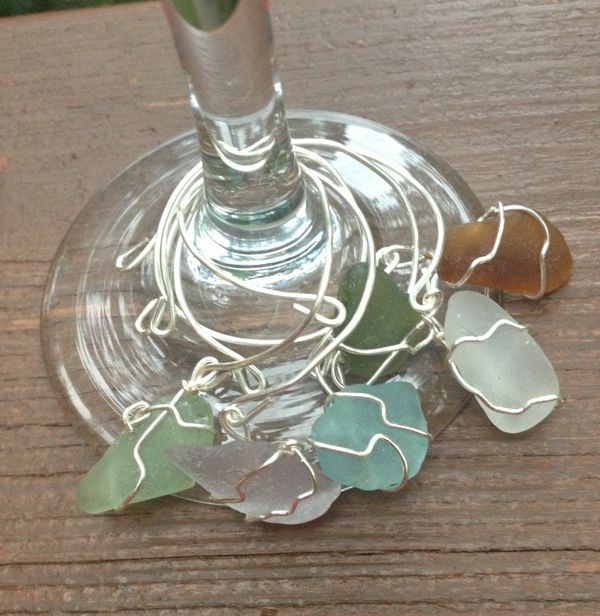 10 Ways to Decorate with Sea Glass2
