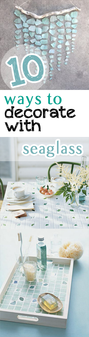 Home decor, DIY home decor, decorating with sea glass, repurpose projects, popular pin, DIY home, home design.