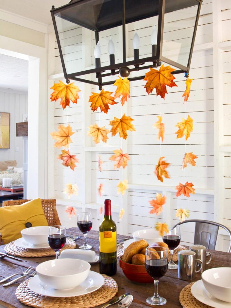 8 Cute Ways to Decorate for Thanksgiving2