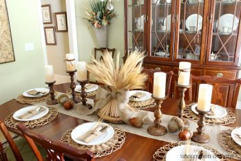 8 Cute Ways to Decorate for Thanksgiving7