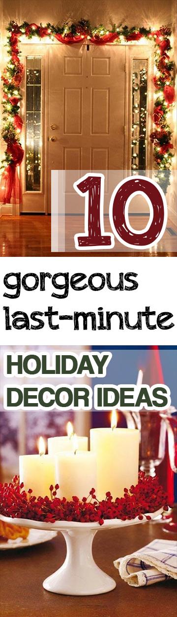 Last Minute Holiday Decor, Last Minute Christmas Decor Ideas, Holiday Decor Ideas, Easy Holiday Decor DIYs, Simple Holiday Decor Hacks, Popular Pin, Easy Christmas Decor, Simple Christmas Decor Ideas