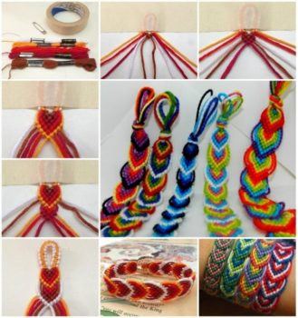 12 Super Simple Homemade Bracelet Tutorials2