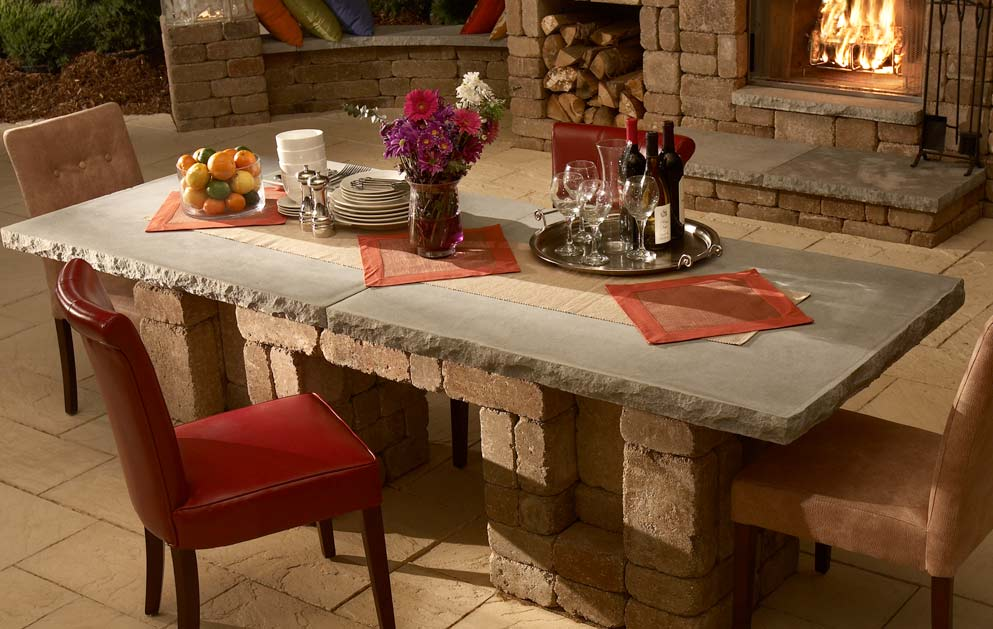 Concrete-dining-table