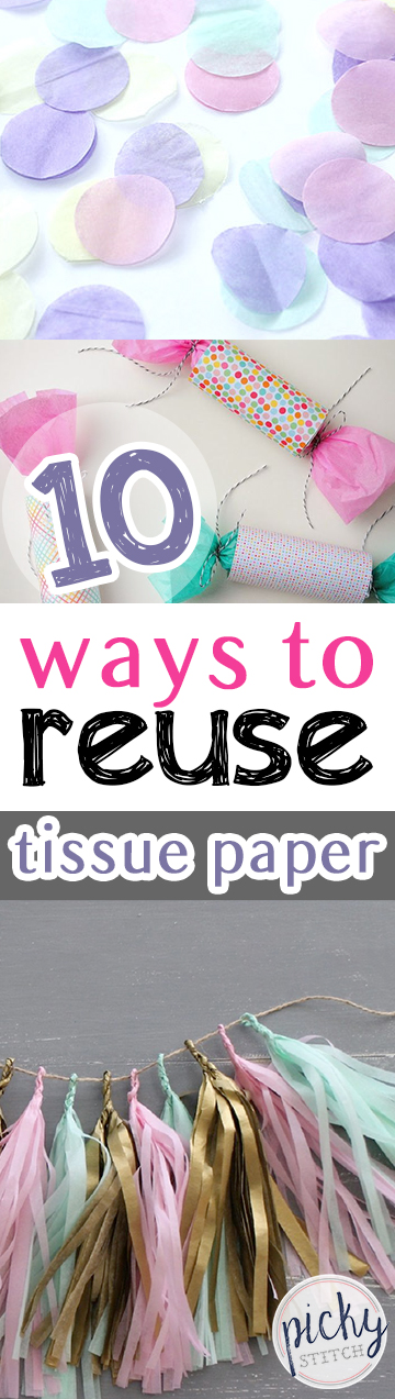 How to Reuse Tissue Paper, Things to Do With Tissue Paper, Uses for Tissue Paper, How to Recycle Tissue Paper, Recycling Tissue Paper, Crafts, Easy Crafts, Crafts for Kids, Simple Crafts, Popular Pin