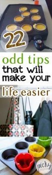 PIN 22 Odd Tips That Will Make Your Life Easier