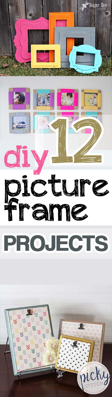 DIY Picture Frames, Picture Frame Hacks, DIY Home, DIY Home Decor, Cheap Home Decor, Homemade Picture Frames, Handmade Picture Frames, DIY Crafts, Easy Crafts, Inexpensive Crafts, Crafts for Kids, Popular Pin