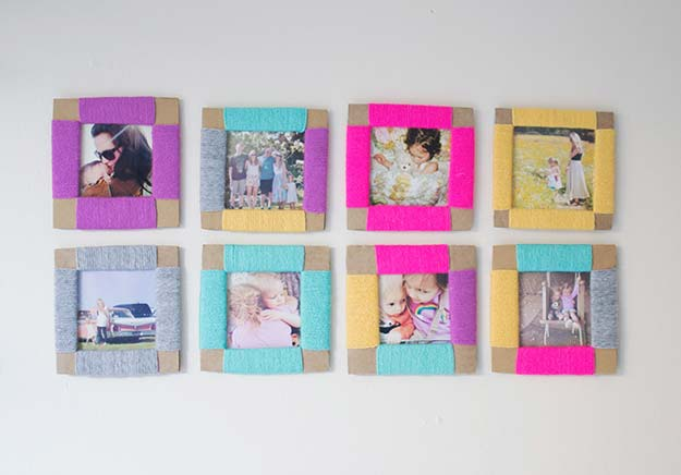 12 diy picture frame projects picky stitch - Diy Picture Frames